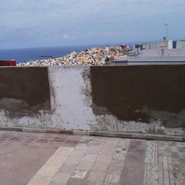 Arreglos de azoteas en Las Palmas. Obra Vertical. Trabajos verticales en Las Palmas